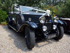 1930's vintage Humber for Hire